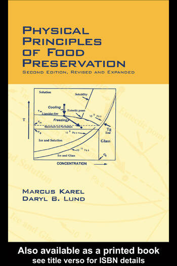 Physical Principles of Food Preservation Revised and Expanded book cover