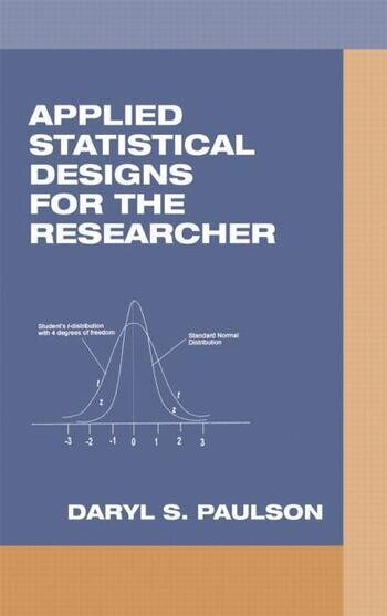 Applied Statistical Designs for the Researcher book cover