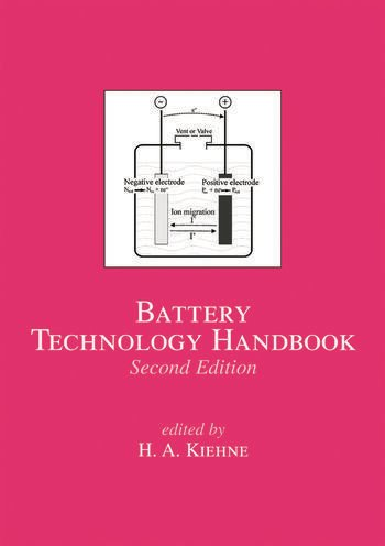 Battery Technology Handbook book cover