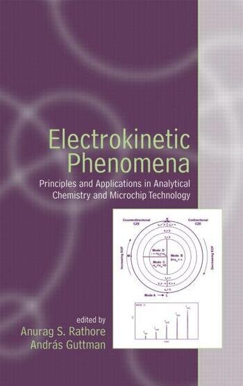Electrokinetic Phenomena Principles and Applications in Analytical Chemistry and Microchip Technology book cover