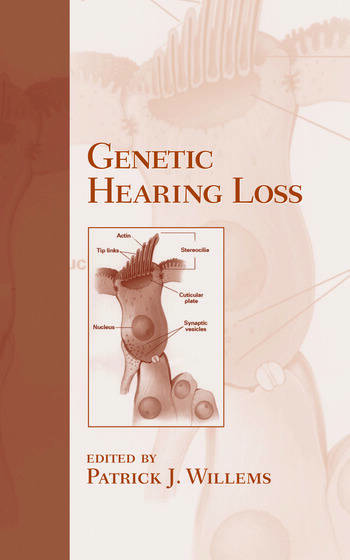 Genetic Hearing Loss book cover