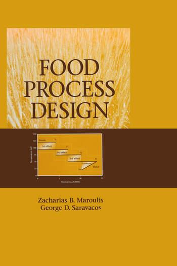 Food Process Design book cover