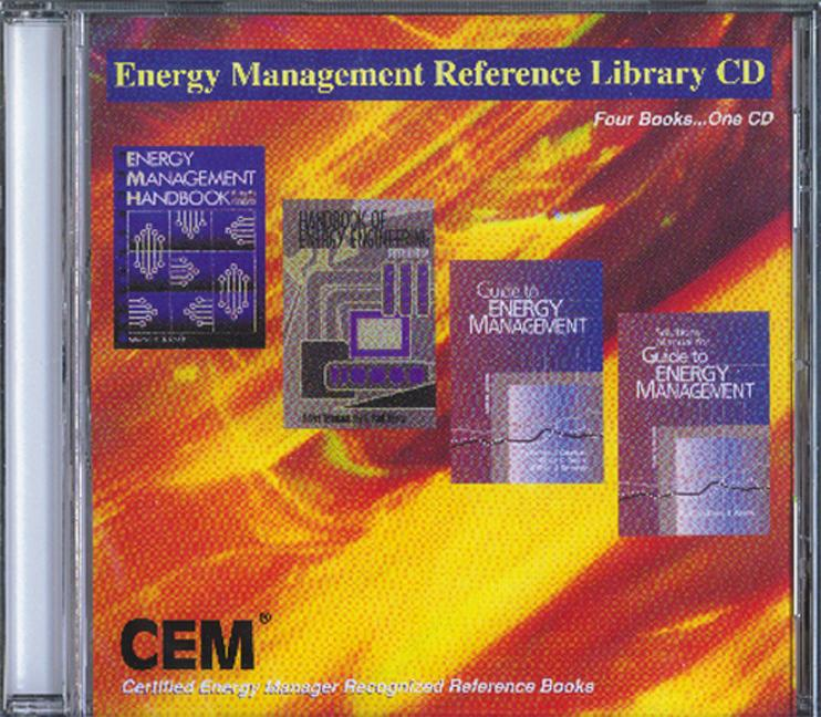 Energy Management Reference Library CD book cover
