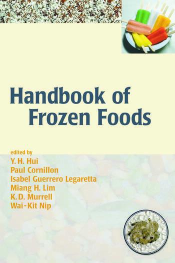 Handbook of Frozen Foods book cover