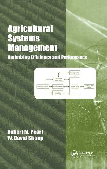 Agricultural Systems Management Optimizing Efficiency and Performance book cover