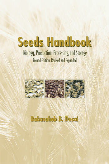Seeds Handbook Processing And Storage book cover