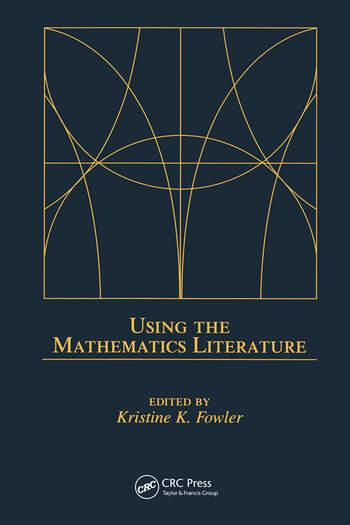 Using the Mathematics Literature book cover