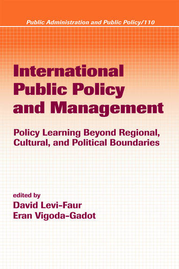 International Public Policy and Management book cover