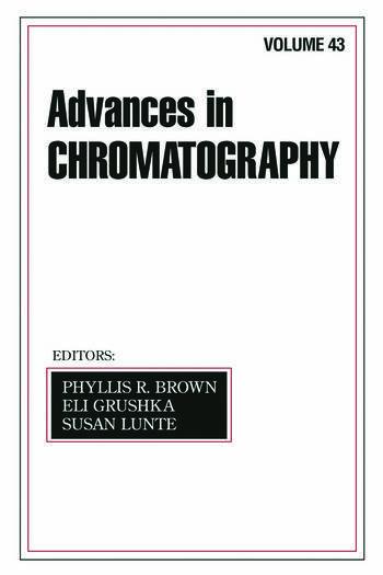 Advances In Chromatography Volume 43 book cover