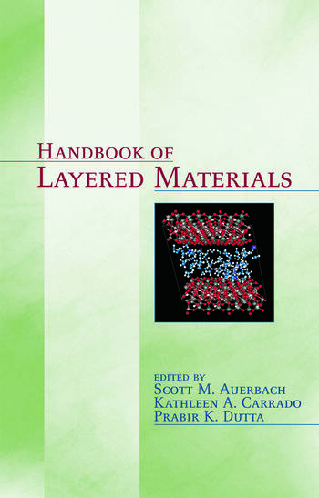 Handbook of Layered Materials book cover