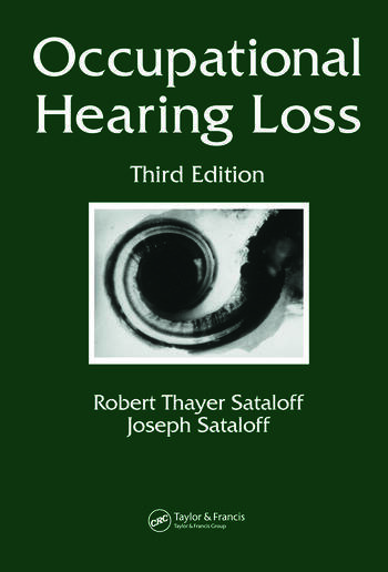 Occupational Hearing Loss book cover