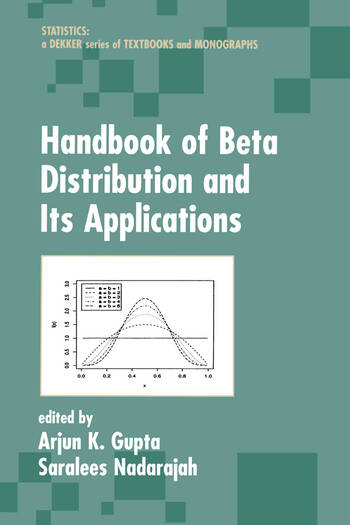 Handbook of Beta Distribution and Its Applications book cover