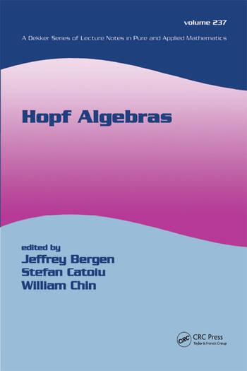 Hopf Algebras book cover