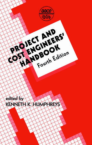 Project and Cost Engineers' Handbook book cover