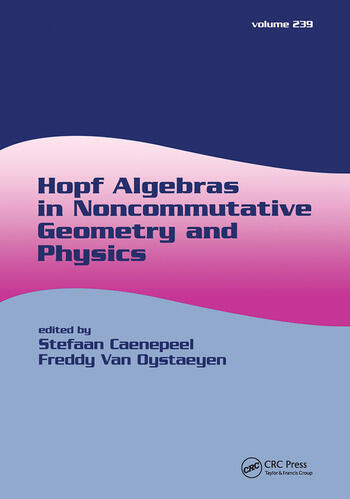 Hopf Algebras in Noncommutative Geometry and Physics book cover