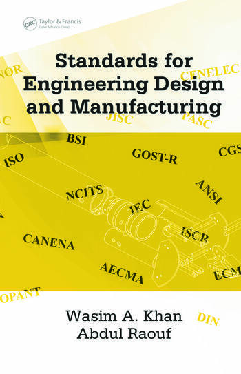 Book Cover Design Requirements ~ Standards for engineering design and manufacturing crc