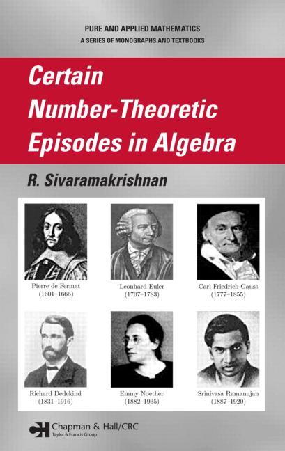 Certain Number-Theoretic Episodes In Algebra book cover