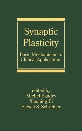 Synaptic Plasticity Basic Mechanisms to Clinical Applications book cover