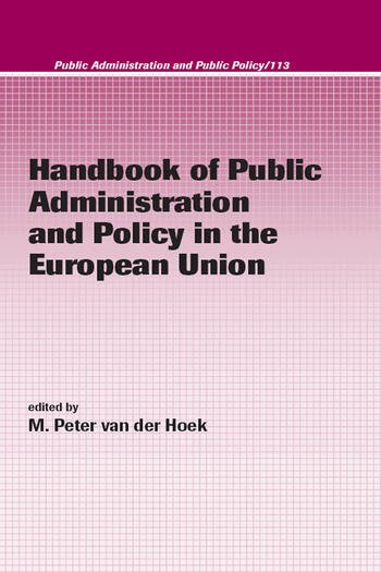 Handbook of Public Administration and Policy in the European Union book cover