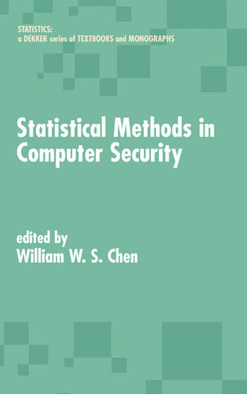 Statistical Methods in Computer Security book cover