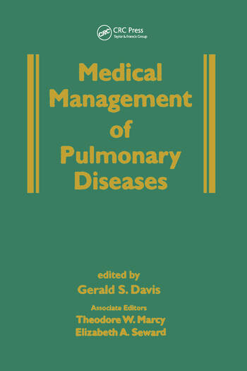Medical Management of Pulmonary Diseases book cover