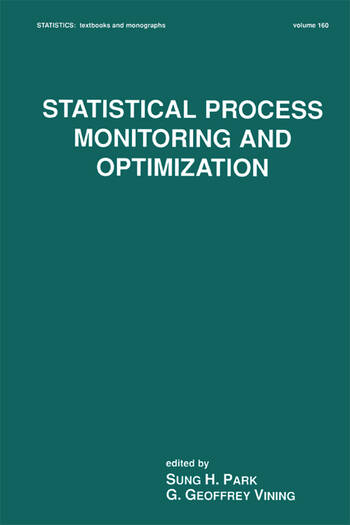 Statistical Process Monitoring and Optimization book cover
