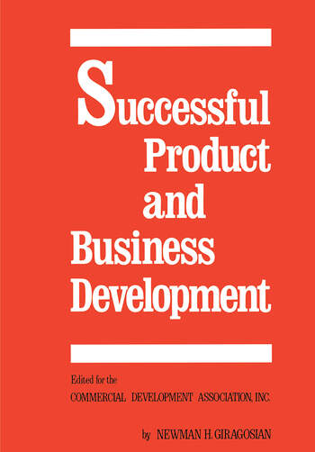 Successful Product and Business Development, First Edition book cover