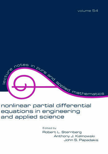 Nonlinear Partial Differential Equations in Engineering and Applied Science book cover