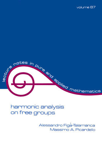 Harmonic Analysis on Free Groups book cover