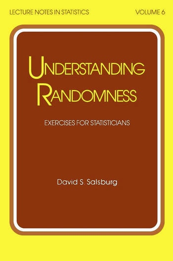 Understanding Randomness EXERCISES FOR STATISTICIANS book cover