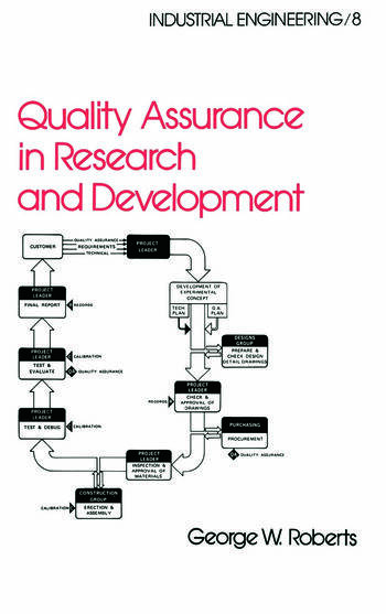 Quality Assurance in Research and Development book cover