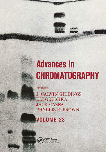 Advances in Chromatography Volume 23 book cover