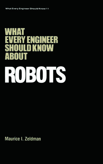 What Every Engineer Should Know about Robots book cover