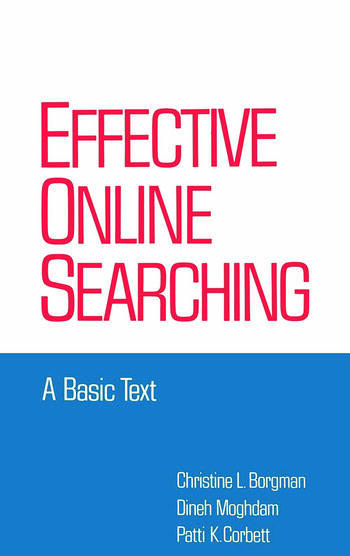 Effective Online Searching A Basic Text book cover