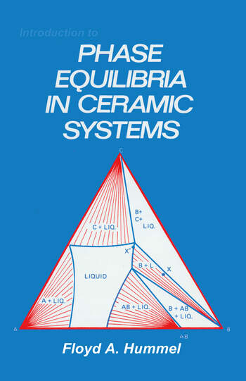 Introduction to Phase Equilibria in Ceramic Systems book cover