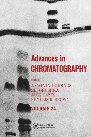 Advances in Chromatography Volume 24 book cover