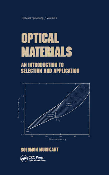 Optical Materials An Introduction to Selection and Application book cover
