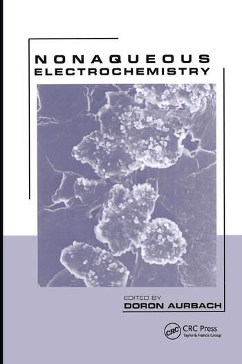 Nonaqueous Electrochemistry book cover