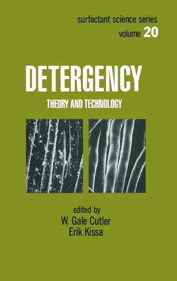 Detergency Theory and Technology book cover