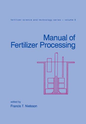 Manual of Fertilizer Processing book cover
