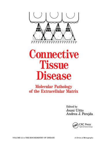 Connective Tissue Disease Molecular Pathology of the Extracellular Matrix book cover