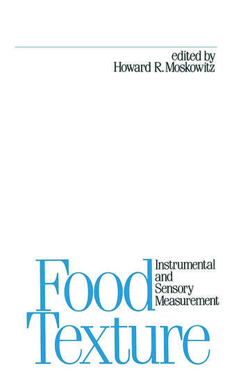 Food Texture book cover