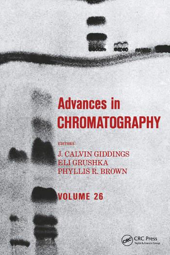 Advances in Chromatography Volume 26 book cover