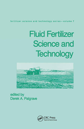 Fluid Fertilizer Science and Technology book cover