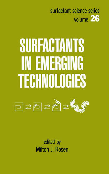 Surfactants in Emerging Technology book cover