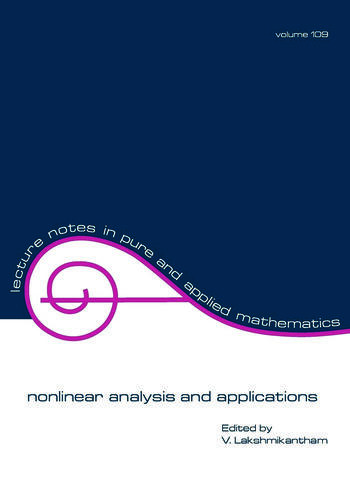 nonlinear analysis and applications book cover