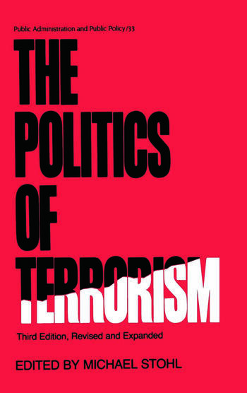 The Politics of Terrorism, Third Edition, book cover