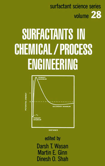 Surfactants in Chemical/Process Engineering book cover