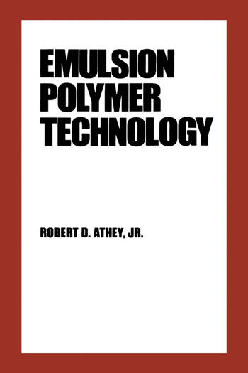 Emulsion Polymer Technology book cover