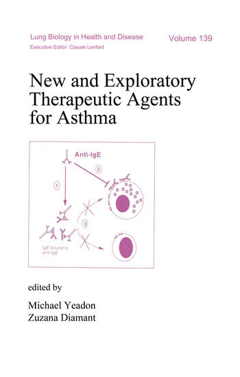 New and Exploratory Therapeutic Agents for Asthma book cover